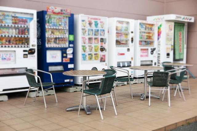 自動販売機の設置に適する広さ・場所とは!導入方法と費用・利益